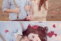 Valentine / Mood board inspiration for engagement sessions