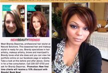 Meet Salem Ohio's Professional Stylist Brandy Rouse / This board is about Brandy's Makeup and Hair Artistry. Her before and afters. Her tips on creating perfect eye looks and more. Brandy uses all natural cosmetic products from our Holistic Beauty Boutique and Salon.