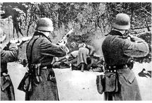 History: The Holocaust / The Holocaust: the genocide of approximately six million European Jews during WW II, state-sponsored murder by Nazi Germany and led by Adolf Hitler. Also includes the Nazis' genocide of millions of people in other groups, including Romani, leftists, Soviet prisoners of war, Polish and Soviet civilians, homosexuals, people with disabilities, Jehovah's Witnesses, other political & religious opponents. Death toll to 11-17 million.  / by Paula Craft Dye