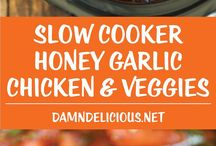 Easy Healthy Slow Cooker Recipes / A collection of Easy Healthy Slow Cooker Recipes perfect for families