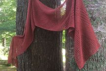 Knit Gallery: Shine. / Beautiful Shine shawls made by knitters around the world.