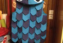 Costume de poisson