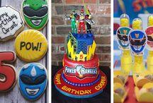 Festa Power Rangers