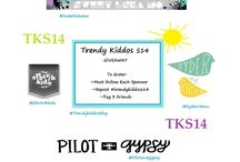 GIVEAWAYS!!! / All the giveaways on our blog http://trendykiddos.blogspot.com