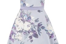 Ariella ♥  Florals / Dresses with floral print, bright colours, perfect for this spring and summer!