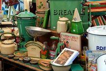Crockery and vintage Cutlery