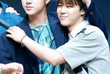 BTS Jinmin / Jin x Jimin