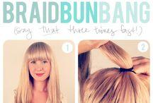 cute hair styles / love hair
