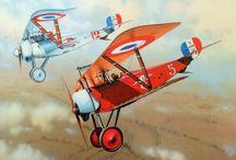 ARTWORK - WW1 AIRCRAFTS