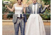 Photo mariage marrantes / Funny wedding photo - See more on http://ouiausoleil.fr/photos-fun-pour-mariage-a-lile-maurice-heureux/
