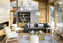 W i n t e r  i n t e r i o r / A gallery of wonderful inspiring interiors from mountains.