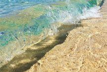 ビーチの波