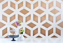Honeycomb Hexagon Inspiration Shoot / Hexagon and Honeycomb everything. Wedding and party inspiration.