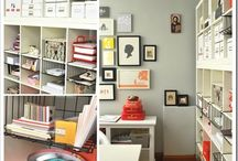 Craft Rooms & Craft Storage Ideas