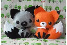 Craft: felting, stuffed toys
