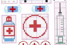 doctor cross stitch