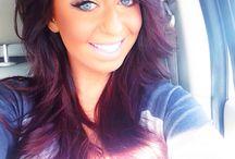 ️Red/violet hair