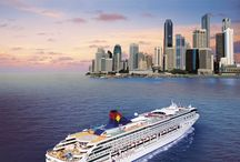 Cruise Ships Paradise at the Sea / There's Paradise at the Sea, Let's enjoy the floating hotels