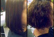 Wavy hair@Kapsalon Nanette / Verschillende omvormingen@Kapsalon Nanette