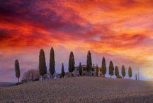 winter sunset at dreamland