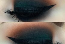 Dark Make up