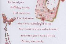 Niece birthday