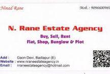 N.RANE ESTATE AGENCY / Real Estate Broker in Badlapur City near Mumbai