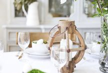 Tablescapes / Gorgeous tablescapes for the holidays!