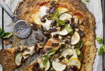 Recept - pizza, pajer och pasta / ....och vi slänger väl med lite risotto när vi ändå är igång....