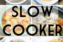 Slow Cooker Recipes... Sooooo slow!!! / Maybe I can eat healthy and at decent times now!!!