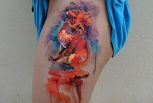 tatoo aquarel