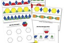 Tangram/pattern block