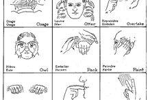 NATIVE AMERICAN SIGN LANGUAGE, SYMBOLS & CODES / NATIVE AMERICAN SIGN LANGUAGE, SYMBOLS & CODES
