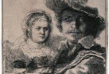 Rembrantd - рисунок