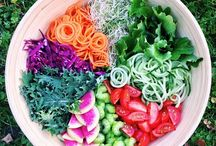 Simple, Healthy Salad Recipes (featuring sprouts!)
