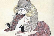 Knits: Art Illustrated