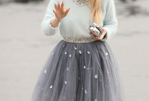 Skirts with tulle