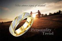 Elegant Edelstahl Ring für DamenGr 56 (17,8 mm Ø)+G 5,3 g 13,90 Euro