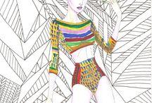 Fashion Illustration / Explorando as ilustrações de moda pelo mundo.