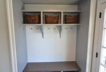 Closet to mudroom