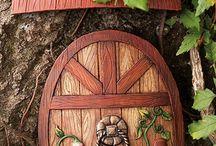 Doors, gates, portals