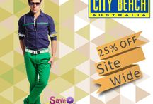 City Beach Australia Coupon Codes / Get 25% off Side Wide at #Citybeach #Australia http://bit.ly/1EXLWee
