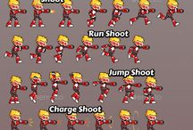 Game Sprite Sheets
