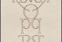 Ispirazione Grafiche Alfabeti