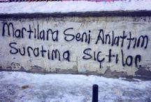 sokak yazıları
