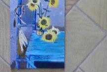 Boyamalarim / Yaptığım tablolar