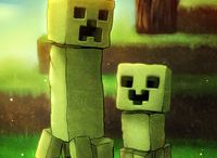 Minecraft / Notch ~ Dinnerbone ~ Herobrine ~ Steve  xXNetherBossXx Forever