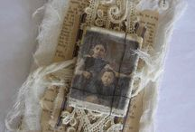 Vintage lace tags