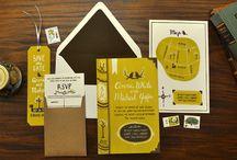 bookmark invitation ideas