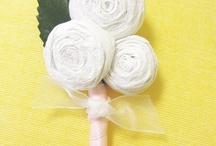 Crochet ~ Ribbon Rosettes / by Cindy Valdez Salgado